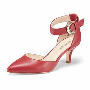 Kitten Heel Red Shoes
