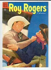 Dell ROY ROGERS #89 May 1955 vintage comic FN/VF Buscema art