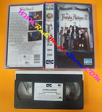 VHS film LA FAMIGLIA ADDAMS 2 Barry Sonnenfeld CIC PVS 70414 (F62) no dvd