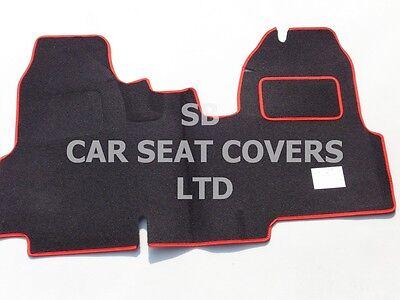 YS06 recaro Deportes Rojo//Negro cubiertas de asiento I-para adaptarse a un Peugeot RCZ Coche