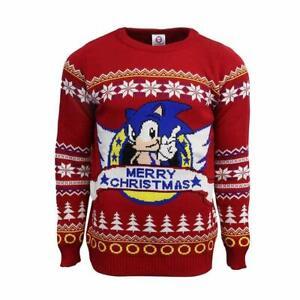 Gaming-Christmas-Jumper-Sonic-The-Hedgehog-Limited-Edition-Jumper-MEDIUM
