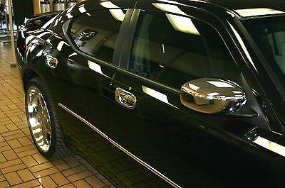06-2010 Dodge Charger Maniglia Cromata Sportello Specchietto Trim Kit Pacchetto