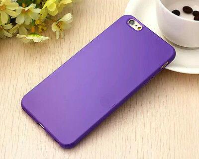 Ultra Thin Candy TPU Silicone Rubber Soft Case Cover For iPhone 4 5S 5C 6S Plus