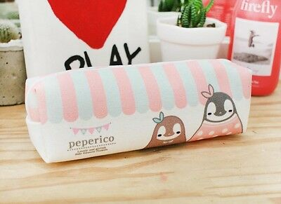 Lovely penguin character Peperico Pen Pouch Pencil case - Gift shop illust
