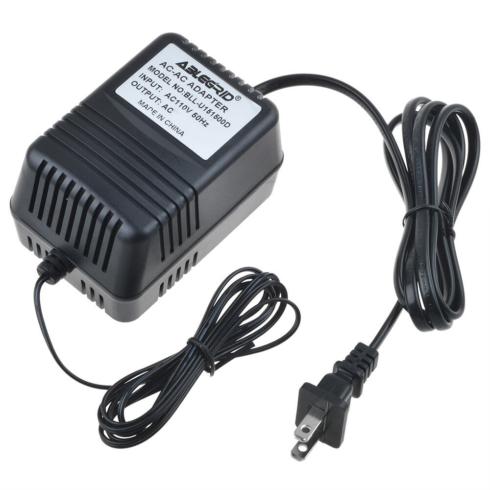 AC to AC Adapter for Vtech CS6529-14 CS6529-15 Power Supply Charger Cable Cord