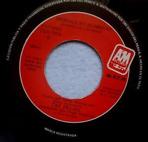 The-Police-Je-Verwendung-von-Tus-Seufzt-Tatort-Por-Numero-Peru-Vinyl-7-034-45