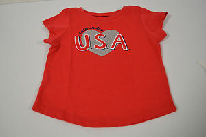 Jumping-Beans-Cute-In-The-U-S-A-Top-Girls-Size-18-Months