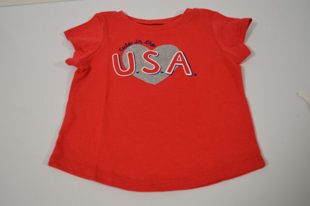 Jumping Beans Cute In The U.S.A. Top Girls Size 18 Months