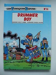 EO-neuf-Tuniques-bleues-31-Drummer-boy-Lambil-Dupuis