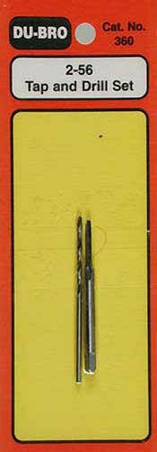 Dubro Tap /& Drill Set 2-56 360