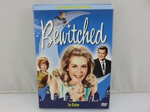 Bewitched-The-Complete-First-Season-DVD-2005-4-Disc-Set-Colorized