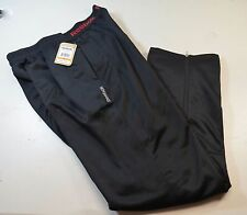 Reebok Sport Trenton Pants Men's M Regular Fit Classic Cut Black NEW NWT