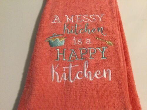 Details about  /KITCHEN TOWEL   COTTON TOWEL EMBROIDERED KITCHEN TOWEL 100/% COTTON