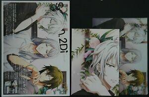 "Magazine japan 57 Spoon.2Di vol.63 /""Idolish 7 etc./"" W//Poster /& Clear File"