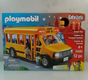 Details about Playmobil 5680 School Bus Playset
