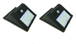 2-X-Lampada-Solare-Da-Esterno-Giardino-Faretto-Fotovoltaico-Sensore-Luce-12-LED