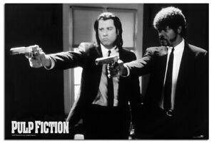 "Pulp Fiction Guns Poster Official Licensed 24x36"" | UK Seller"