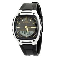 Casio AW81-1A2 Mens NEW Digital Analog 30 PAGE Data Bank Watch 10 YEAR BATTERY