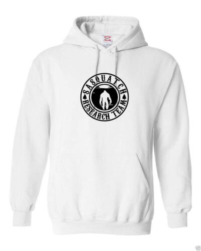 MEN WOMEN RESEARCH TEAM SASQUATCH BIGFOOT FUNNY HIP HOP Hooded Sweatshirt Hoodie