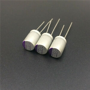 5pcs 330uF 16V Fujitsu FP 8x11.5mm VGA//MB 16V330uF Low ESR Solid Capacitor
