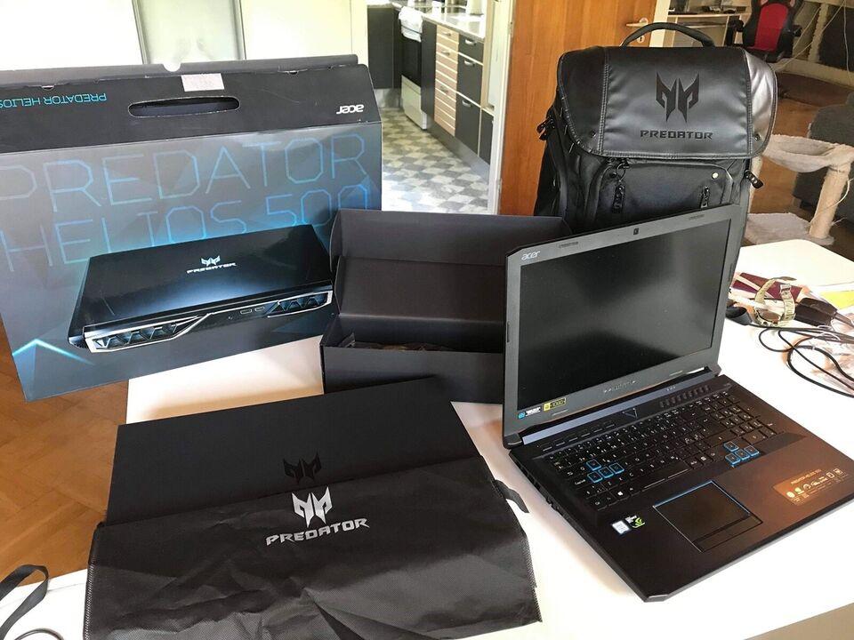 Acer Predator Helios 500, 2,3-4.0 GHz, 16 GB ram