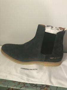 COMMON PROJECTS Suede Chelsea Boot Warm