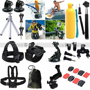 28in1 Accessories Set Pole Monopod Head Chest Strap For Gopro Hero 2 3 3 4 5 - <span itemprop=availableAtOrFrom>Leicester, United Kingdom</span> - GB 247653483 - Leicester, United Kingdom