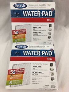 2-BestAir-A10W-Furnace-Humidifier-Evaporator-Replacement-Water-Pad-Filters-Lot