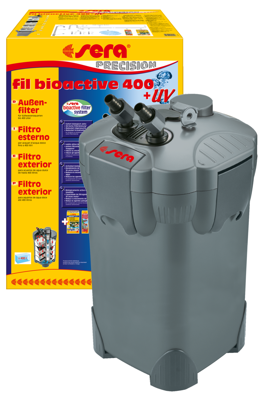 Sera fil bioactive 400 + UV Aussenfilter Aquarium Filter  24 Std.Ver.