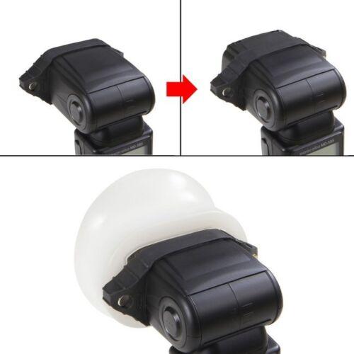 Selens Magnet Flash Modifier Sphere Diffuser Bounce Soft Cover Rubber Grip Kit