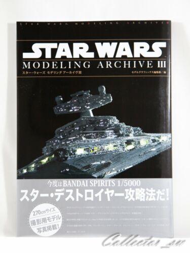 3-7 Days JPStar Wars Modeling Archive III Model Graphix