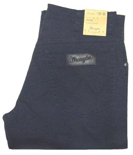 Pantalon Bleu 32 Marine W Texas 33 Wrangler L En Tissut Stretch FS8UqOcwA