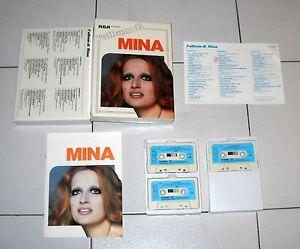 Cofanetto-3-Mc-L-039-ALBUM-DI-MINA-RCA-Musicassette-Box