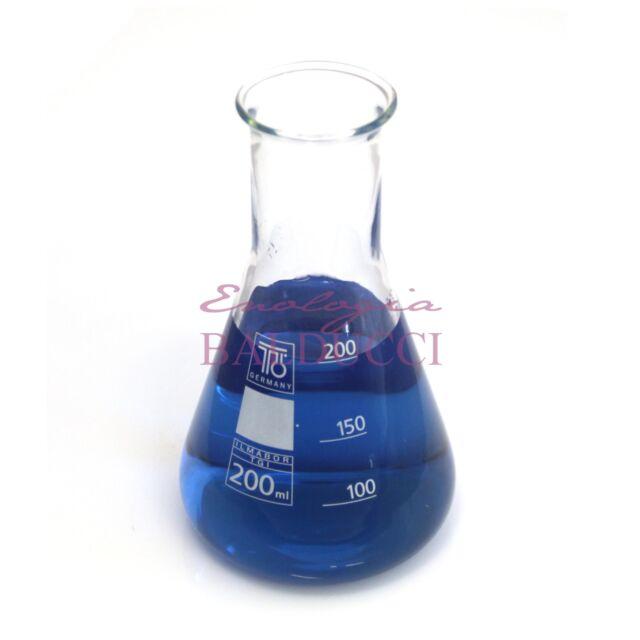 Beuta in vetro borosilicato BORO bocca stretta 200ml