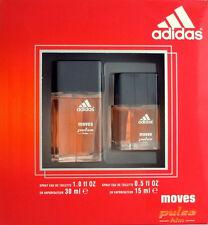 Adidas Moves Pulse For Him 2 Piece Set - 5oz. EDT Spray + 1 oz. EDT Spray