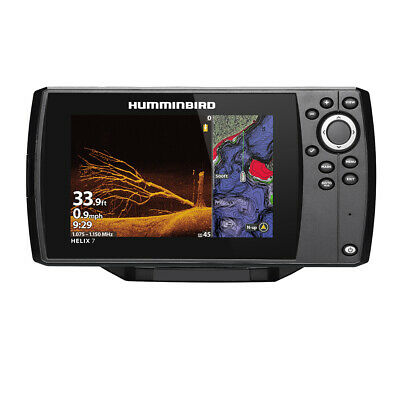 Humminbird HELIX 7 CHIRP MEGA DI Fishfinder//GPS Combo G Expedited Delivery