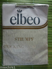 Elbeo Alpha* Nylons*  Feinkrepp *Nylonstrümpfe *30 den* Strapsstrümpfe *35-37
