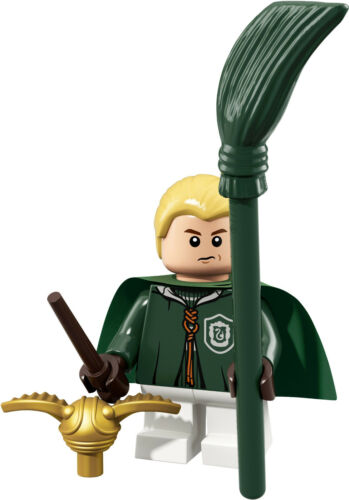LEGO Wizarding World Minifigure Removed from packet No.4 Draco Malfoy