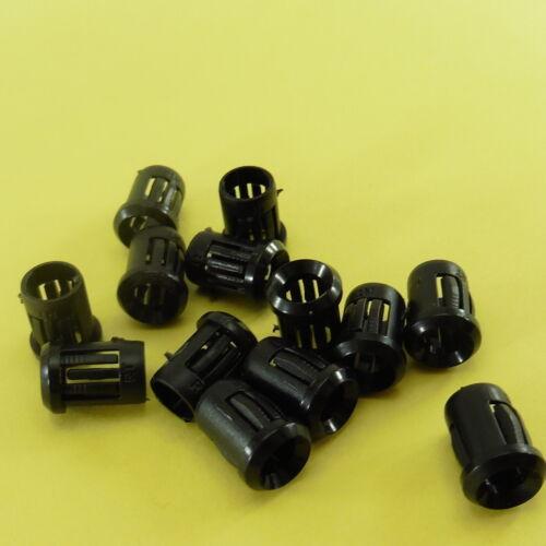 LED Plastic Holder 5mm 1-100pcs DIY Diode Light Panel Clip Display Case