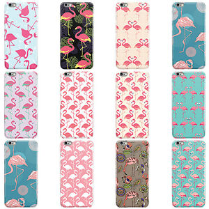 PINK-FLAMINGO-SUMMER-COLLECTION-HARD-CASE-COVER-FOR-APPLE-IPHONE-MOBILE-PHONES