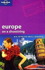 Lonely Planet Europe On A Shoestring-ExLibrary