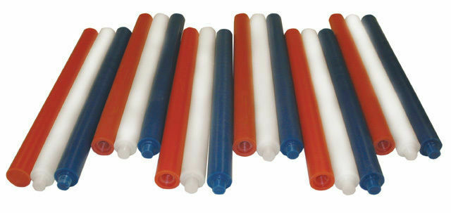 Equine Rubber Pole Bending POLES 6ct AQHA Approved astaeo cavallo mostrare Play Day