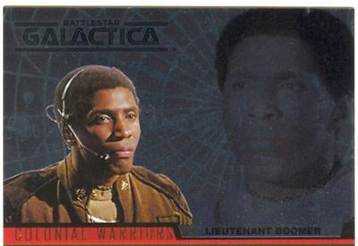 Complete Battlestar Galactica Colonial Warriors Chase Card CW4