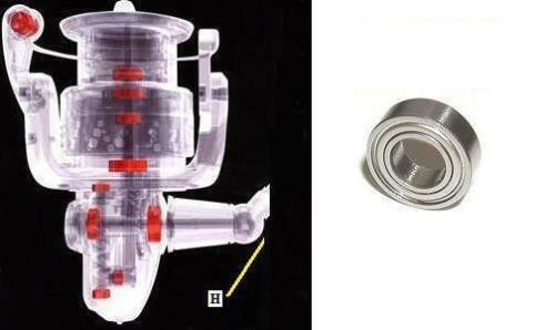 CI4+ C2000HGS C2000PGSS Shimano handle bearing upgrade SOARE CI4 2000HGS 13