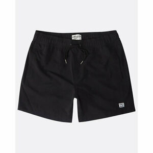 Billabong-all-Day-Laybacks-16-039-039-Boardshorts-Black-Ss-2019-Costume-New-S-M-L-For