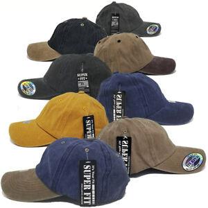 Baseball-Hat-Women-Men-Pigment-Dyed-Dad-Plain-Blank-Adjustable-Washed-Cotton-Cap