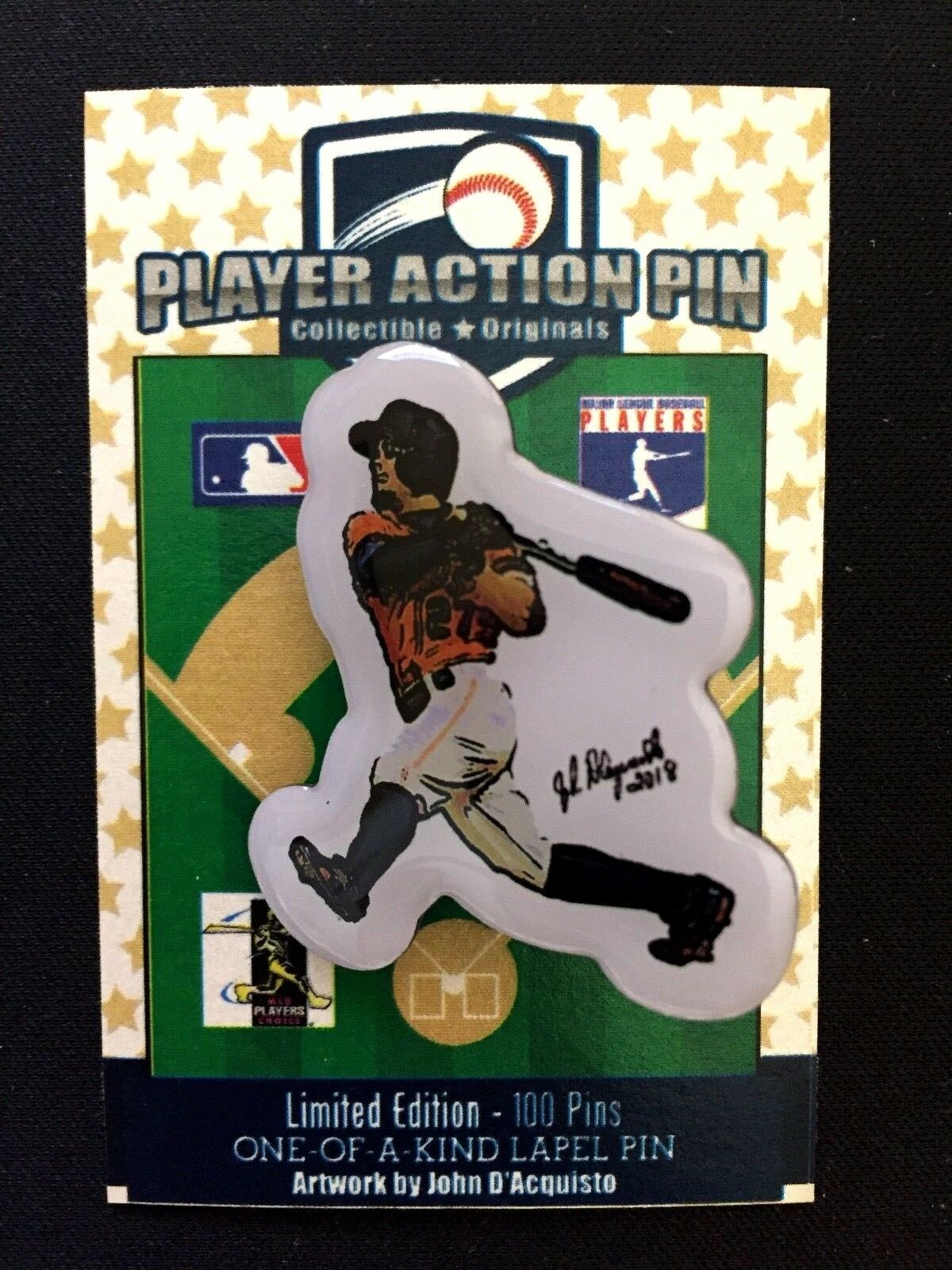 Houston Astros Jose Altuve Reversnadel & Magnet-Collectible-  1 1 1 Fan Fav Spieler 7d5325