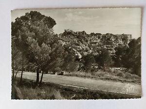 Les-Baux-France-B-amp-W-Postcard-c1938-General-view