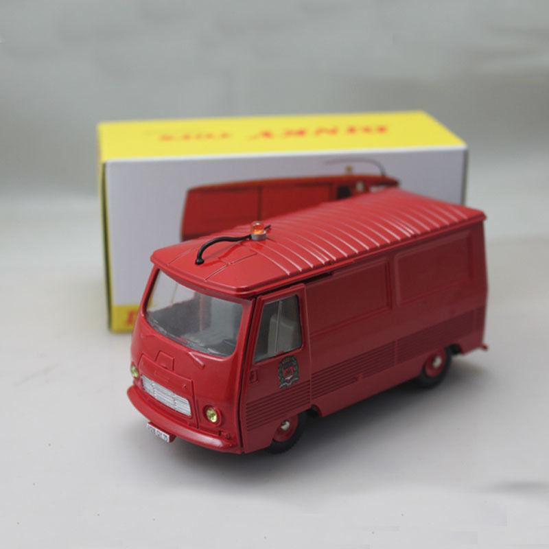 RARE prydlig leksaker PEUGEOT J7 BRAND TRYGMINT I låda