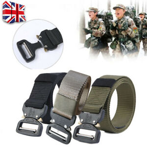 Heavy-Duty-Tactical-Army-Military-Nylon-Belts-Combat-Army-Quick-Release-Buckle-T
